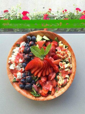 Morgantown, Virgínia Ocidental: Summer Chopped Salad
