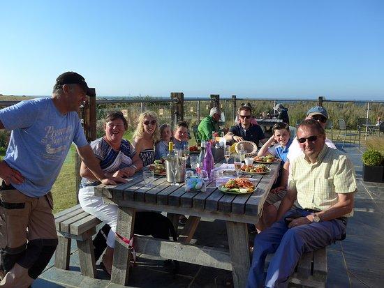 West Runton, UK: Lovely family meal