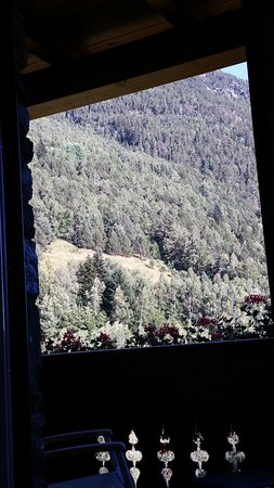 El Serrat, أندورا: Vistas desde la cama.