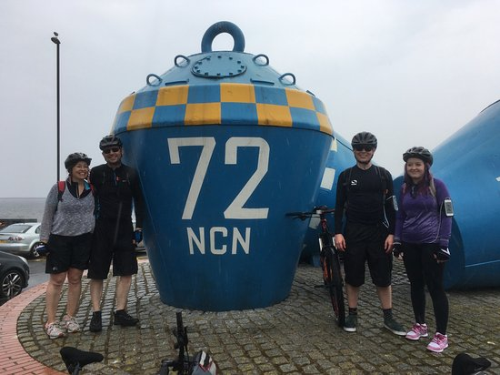 Amble, UK: Having cycled 180 miles (over 4 days) we arrived in Tynemouth.