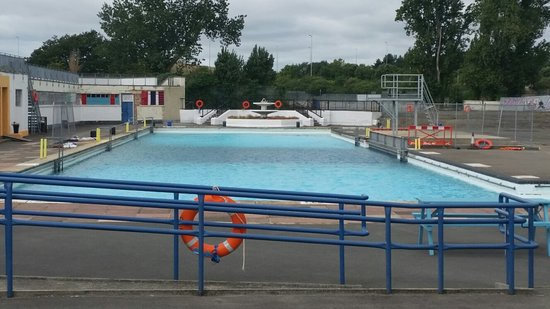 Portsmouth, UK: Hilsea Lido