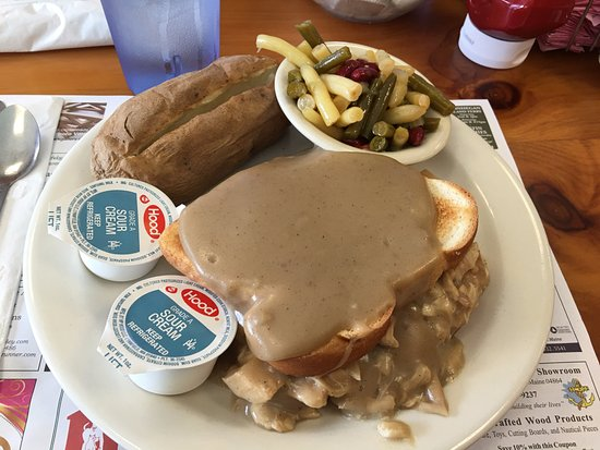 Waldoboro, เมน: Hot Turkey Sandwich