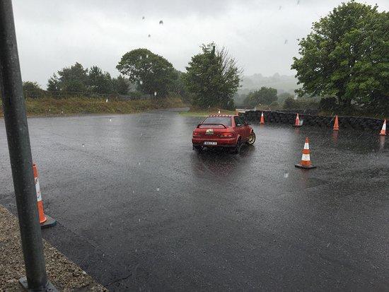 Dungarvan, Irland: Even in heavy rain it's fun, in fact more fun !!!!