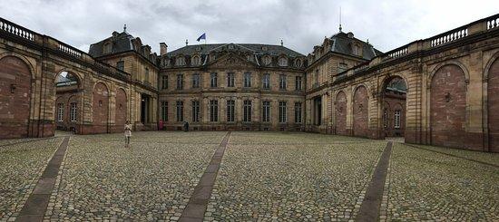 Palais de Rohan: Innenhof
