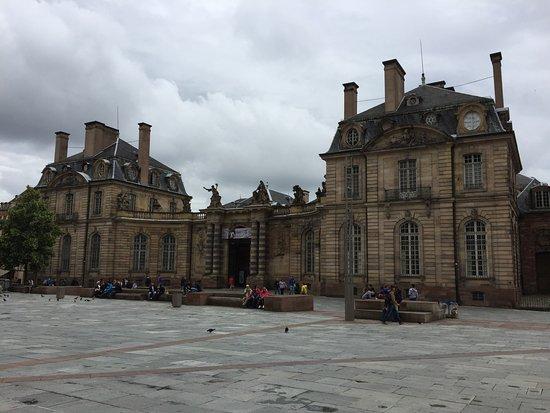 Palais de Rohan: Aussenansicht
