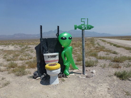 Extraterrestrial Highway: The 51 bomb sign