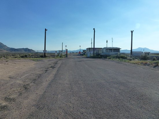 Extraterrestrial Highway: Back gate to Area 51
