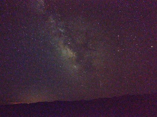 Extraterrestrial Highway: Photo taken looking towards area 51 from rachel
