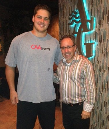 Ponte Vedra Beach, FL: cary paige gm and luke joeckel