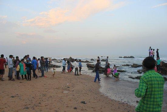Ramakrishna Beach Night Bild Von Rama Krishna Beach Visakhapatnam Tripadvisor