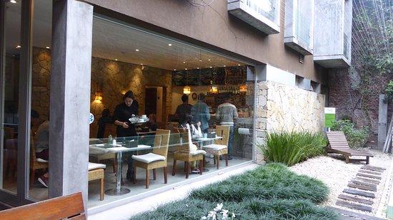 Mine Hotel Boutique: Pouco aproveitada por causa do frio, mas um espaço super agradável