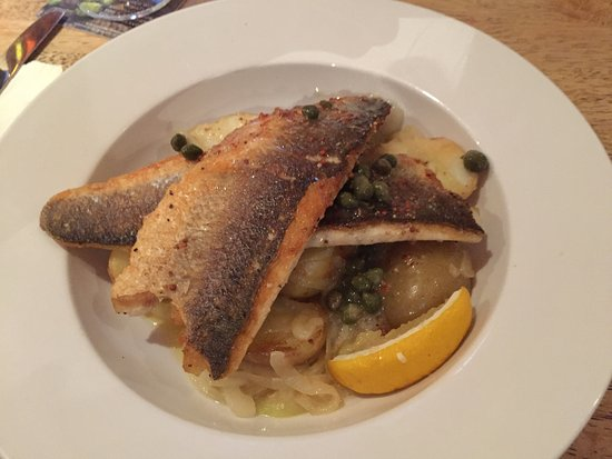 Craigavon, UK: sea bass fillet