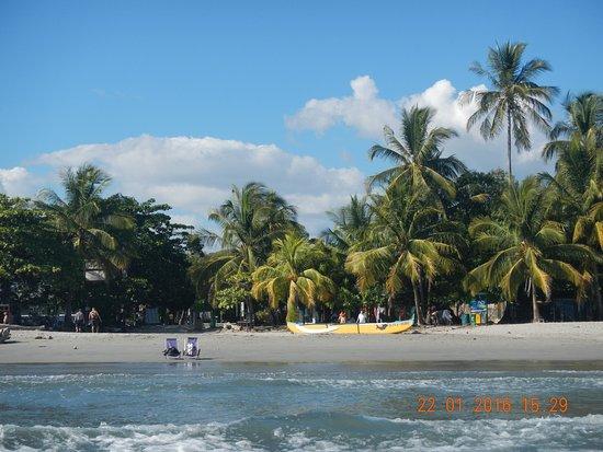 Samara Beach: desde el agua