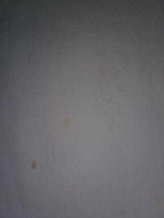 California, MD: Suspicious hardened goo on the sheets