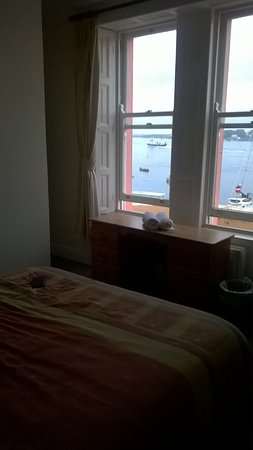 Barholm: Watching the Ferry from my room