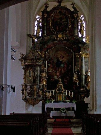 Weissenkirchen, Austria: Wehrkirche St. Michael - Church Alter