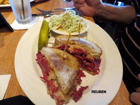 Plymouth, MI: Reuben Sandwich