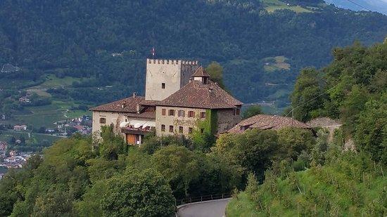 Schloss Thurnstein: La veduta da Castel Tirolo e San Pietro