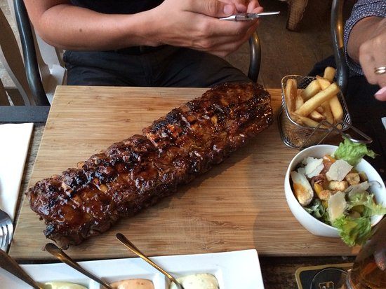 Bennebroek, Pays-Bas : spare ribs