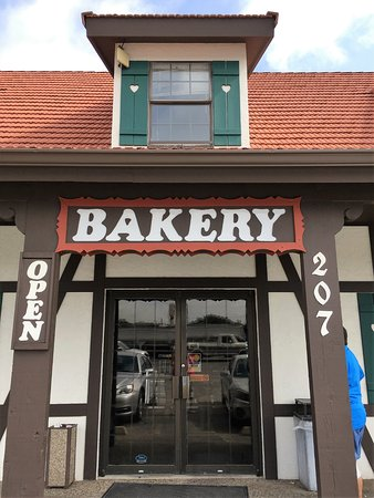 Castroville, TX: entrance to a great bakery!