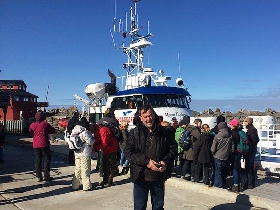 Andenes, Noruega: Boat we went on for whaling safari