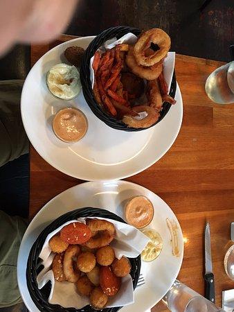 Esbjerg, Danmark: Great appetizers snack kruv & Vegetar