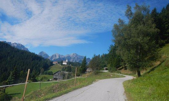 Solcava, Slovenien: tolle aussicht 1