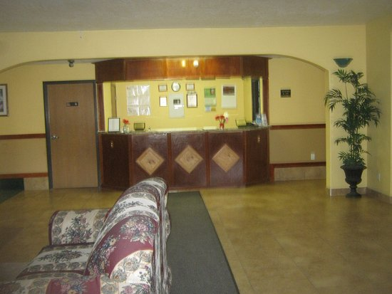 Salina, Γιούτα: Front lobby was clean
