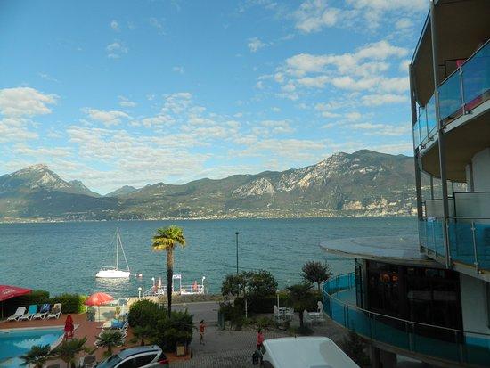 Castelletto, Włochy: View from balcony