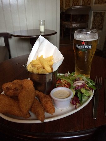 Birr, Irlanda: Goujons are delicious!