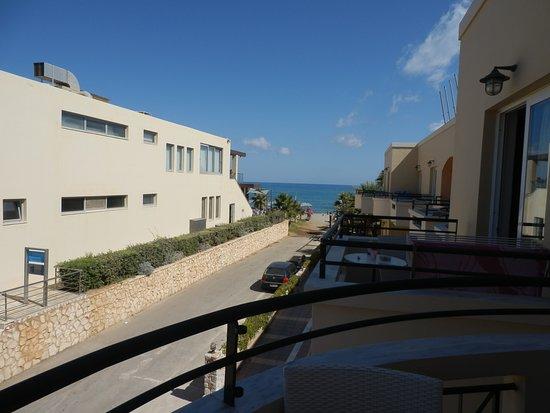 Panos Beach Hotel: θεα απο το δωματιο