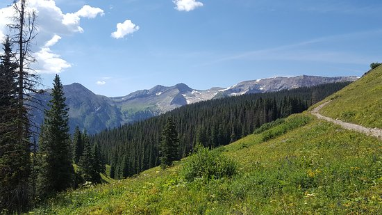 "Marble, CO: Just one of the many ""Postcard"" views from the Lead King Basin tour."