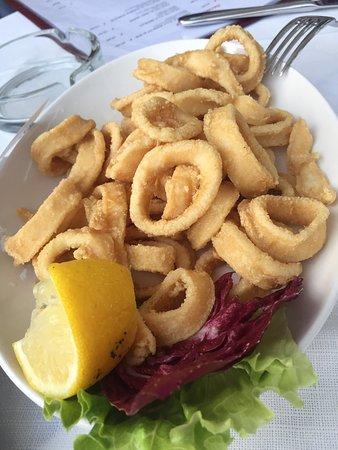 Ristorante Pizzeria Fior di Roccia: Very fresh calamari