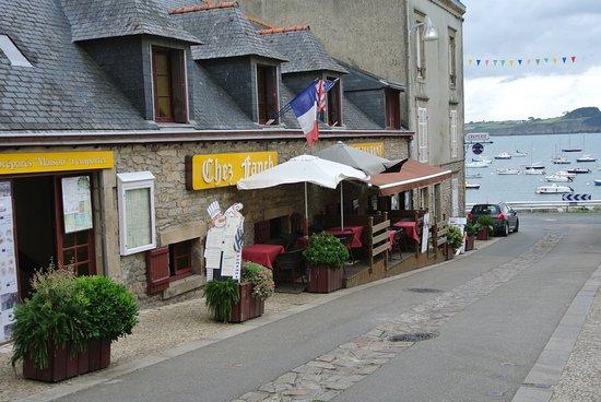 Chez Fanch : Vue extérieure du restaurant_Préférer l'intérieur du restaurant