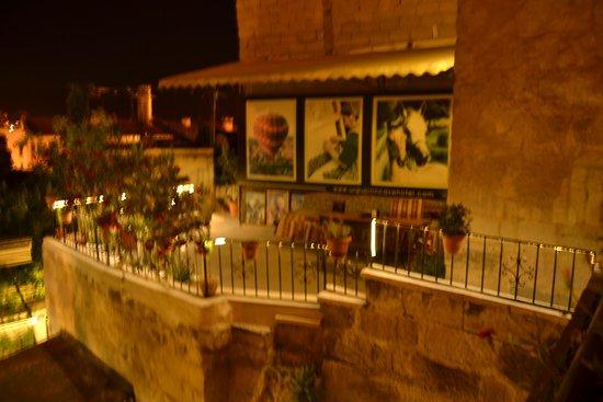 Urgup Inn Cave Hotel: ürgüp inn teras
