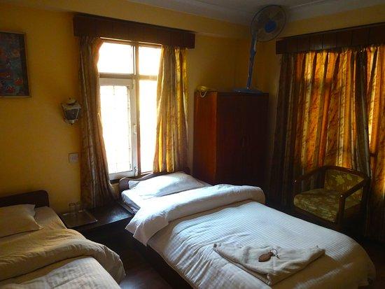 Karma Travellers Home: my room