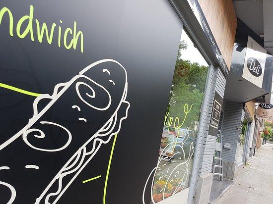 Woluwe-Saint-Lambert, Belgio: Sandwicherie