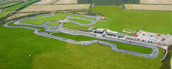 Уэйдбридж, UK: 1300m Outdoor GoKart Circuit, just outside Newquay Cornwall
