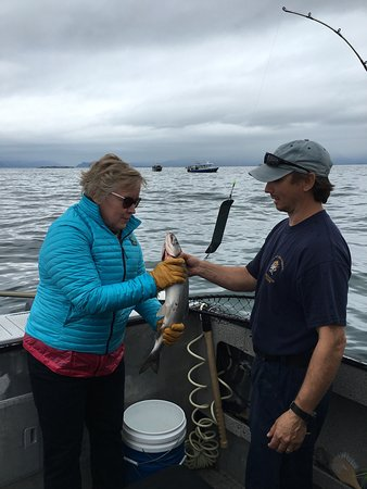 Alaska Adventures Unlimited: We had a great time and a great captain and guide.