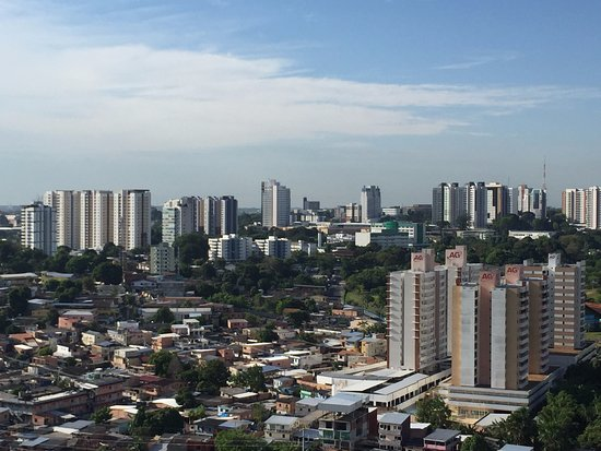 Caesar Business Manaus: view from the terrace