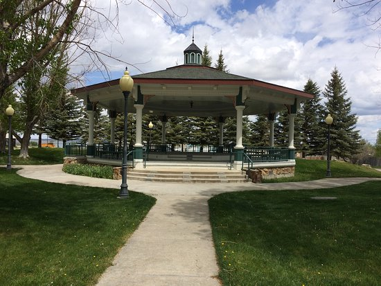 Saratoga, WY: The Pavilion can be rented out for different events including, family reunions, dances, weddings