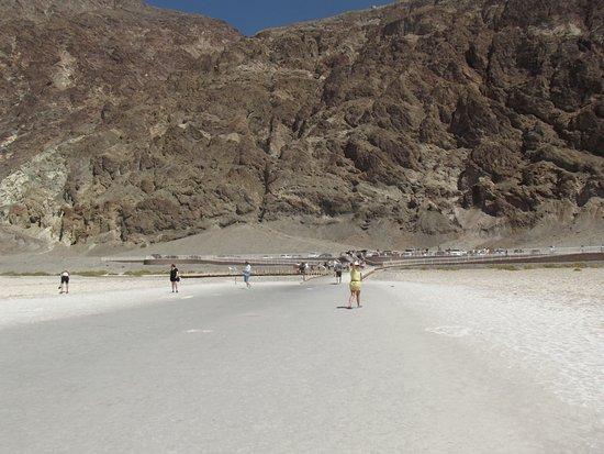 Badwater: planície de sal