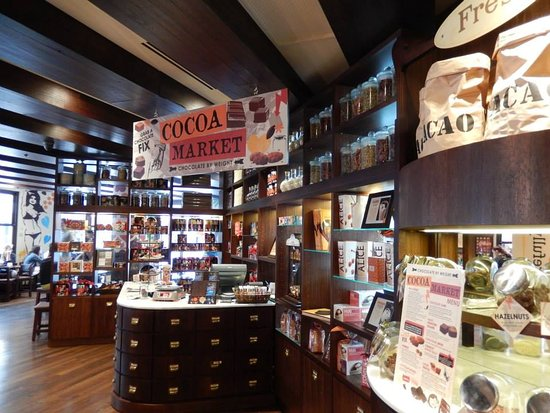 Max Brenner : The shop interior