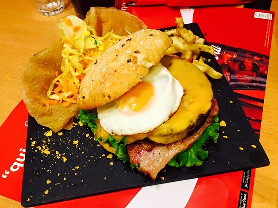 Telde, Spanyol: Hamburguesa Black Angus
