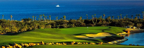 Cabo del Sol Golf Club : The 18th Hole at The Desert Course