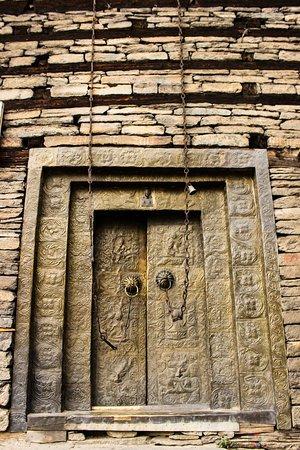 Sangla, الهند: Main Gate of Kamru Fort