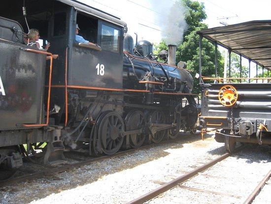 Arcade & Attica Railroad Steam Engine