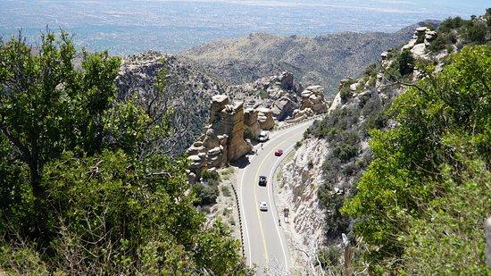 Mt. Lemmon Scenic Byway : Все ближе к вершине