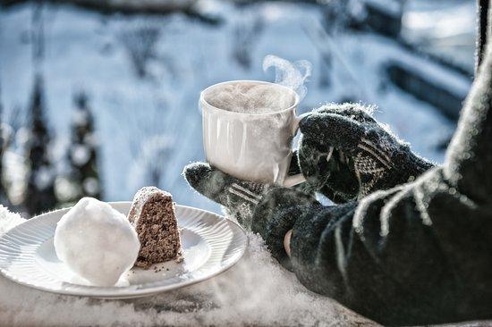 Ladis, Østerrike: Winterliche Atmosphäre