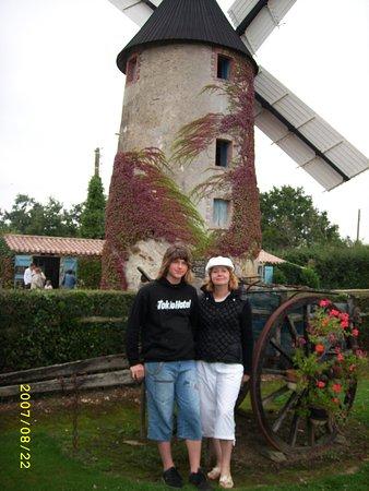 Chateauneuf, Frankrike: un petit moment de plaisir